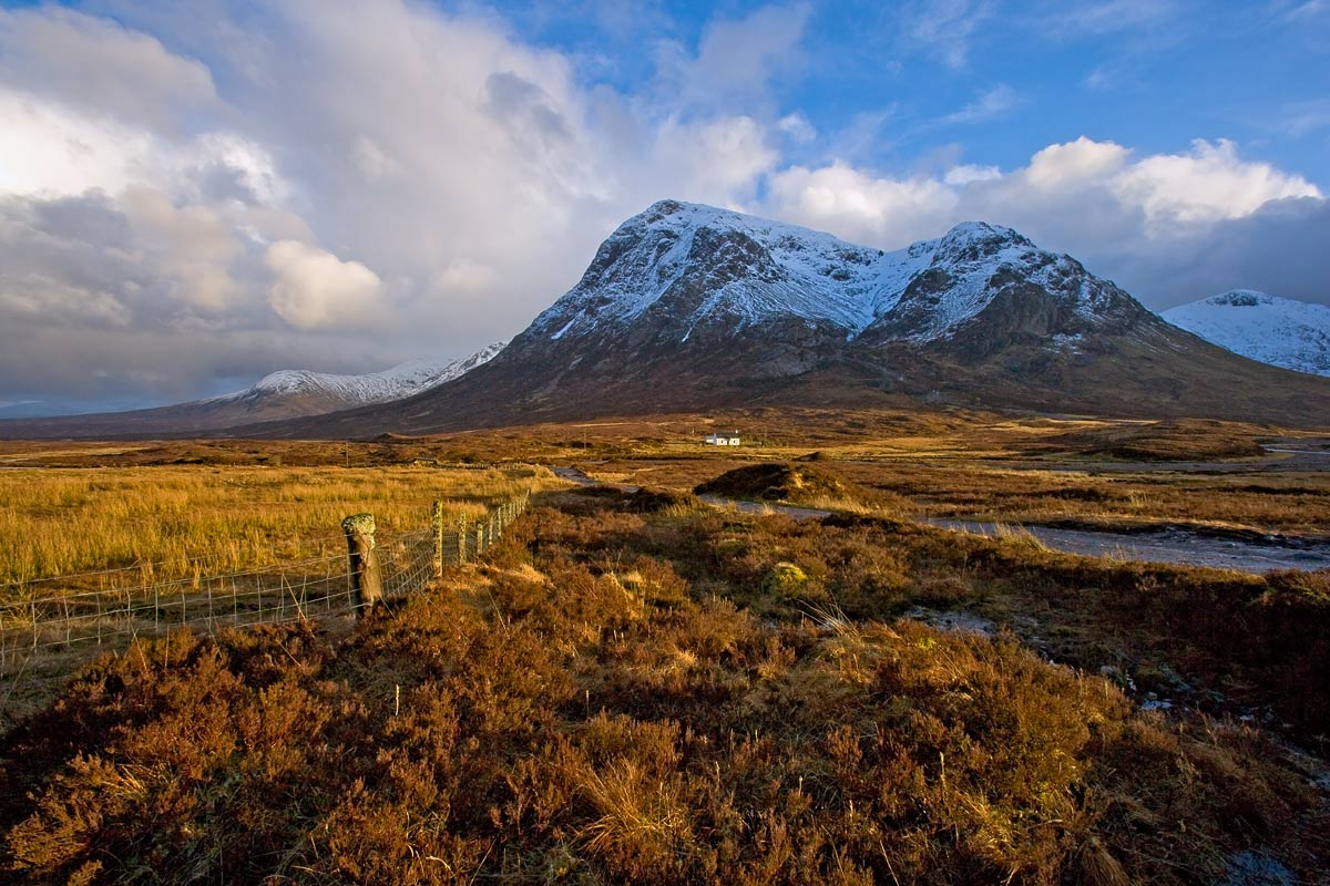 Golden Light at Glencoe