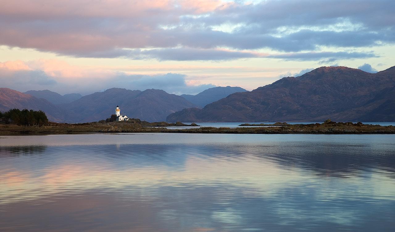 Isle Ornsay Lighthouse...