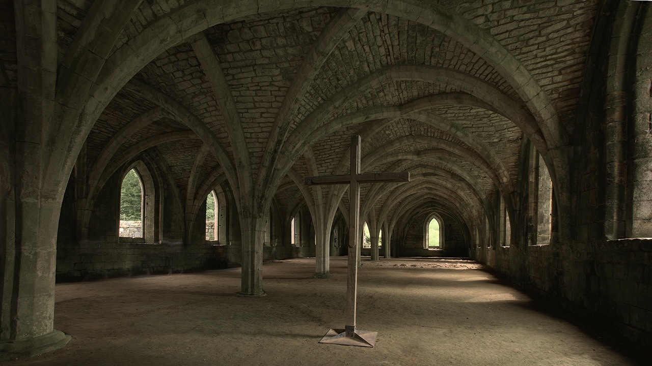 Gallery at Fountains Abbey
