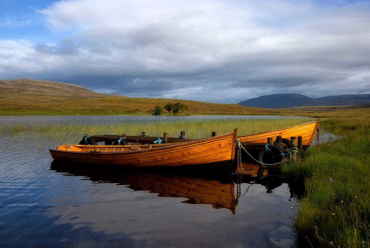 Two Boats at Loch Awe