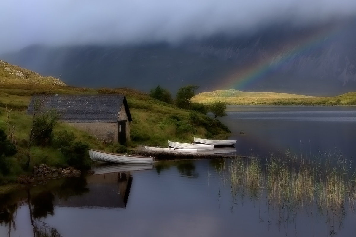 Boathouse at Loch Stack