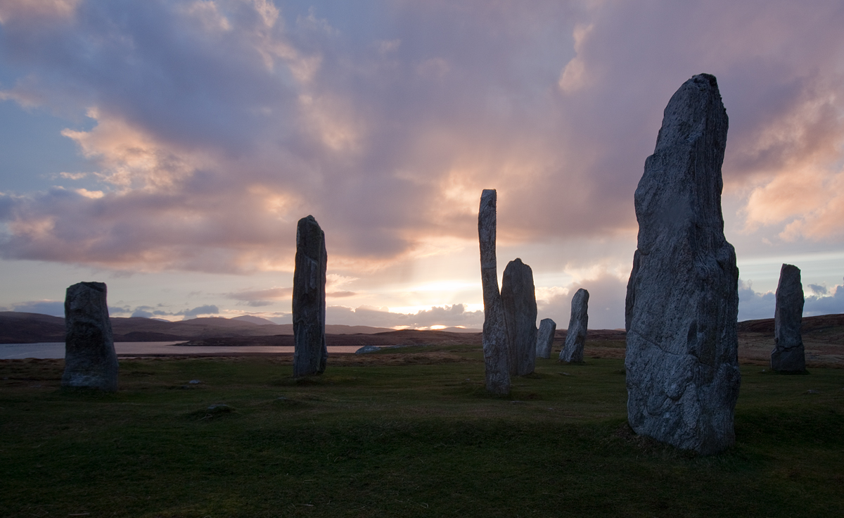 Callanish in Blue